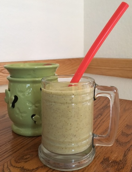 Avocado smoothies make a filling breakfast.