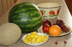 fruits for making fruit salad