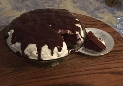 healthy recipes - flourless chocolate cake