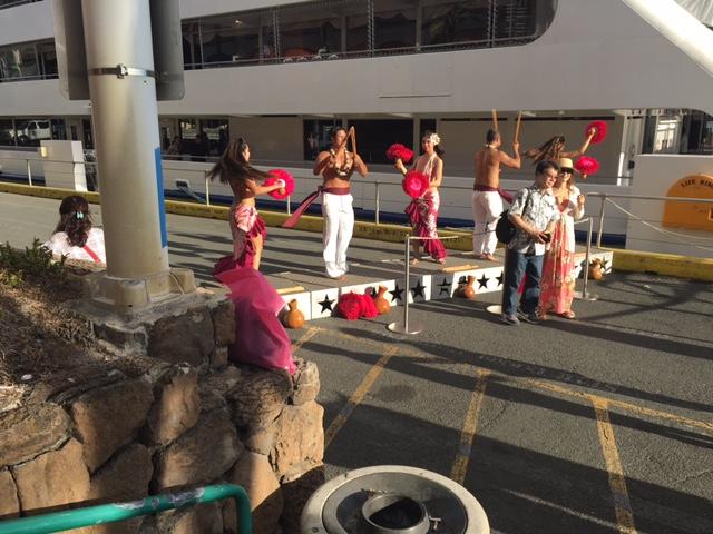 Hula dancing is very graceful