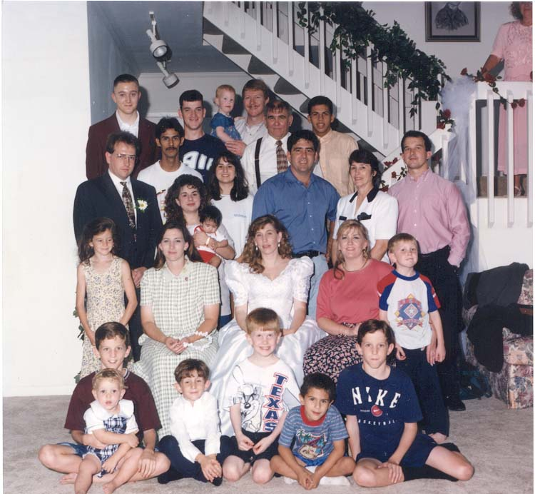 We started as two people and have snowballed into a large wonderful family.