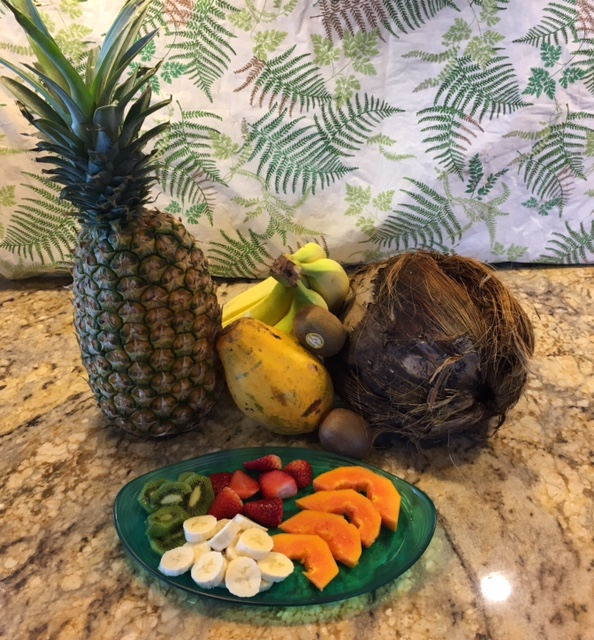 relaxing vacations to places where fruit abounds can help you have a cholesterol lowering breakfast.