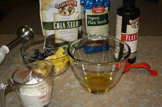 ingredients for flaxseed oil and cottage cheese