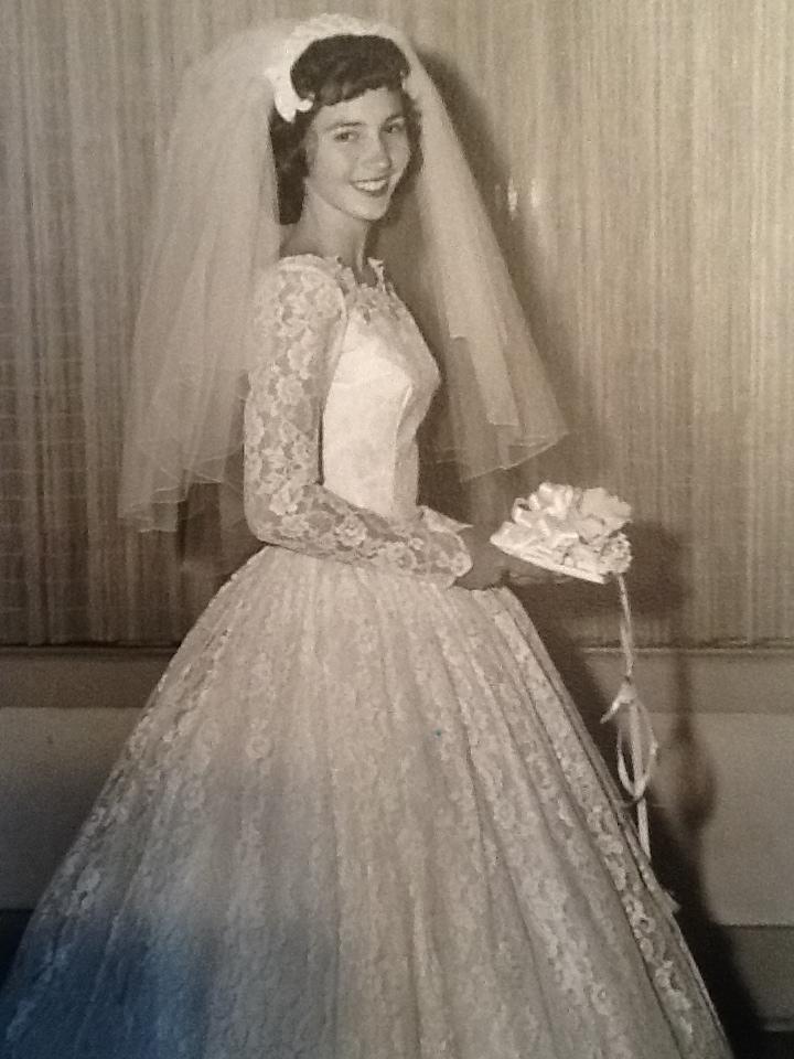 1960 wedding