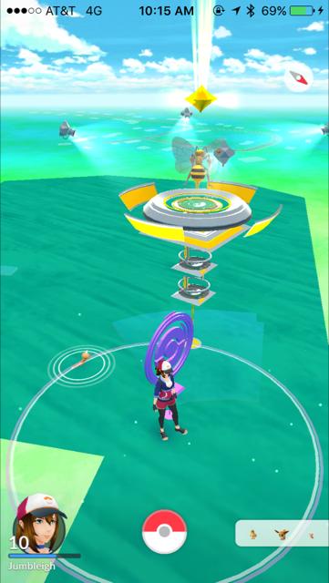 Get those pokemon in shape.