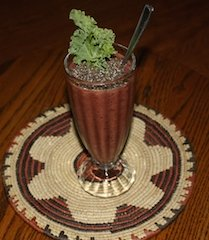 Never skip breakfast. Expecially when it is a treat like a smoothie.