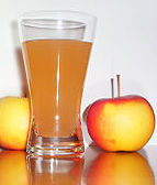 A tall refreshing glass of homemade apple juice is so easy to  make