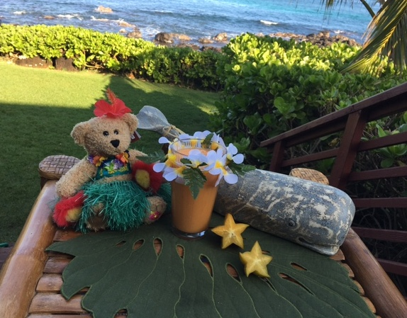 Relaxing vacations might include a vacation smoothie which is delicious for breakfast or a snack.