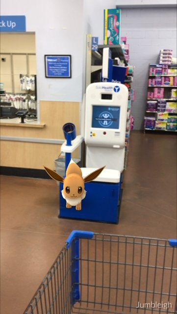 There seem to be a lot of Evee's shopping today.