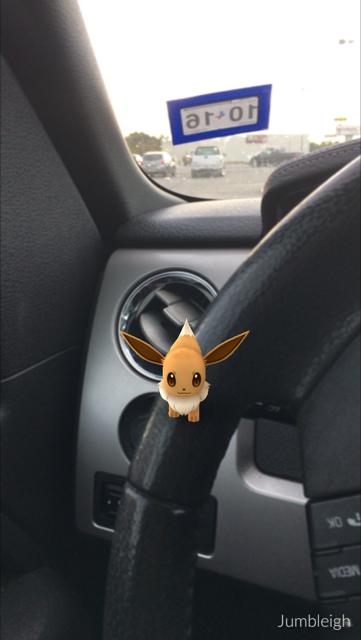 I wonder if he wants to drive.