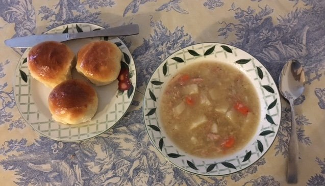 homemade turkey soup for after the holidays