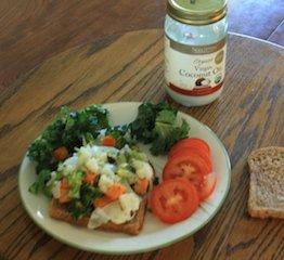 make a veggie sandwich